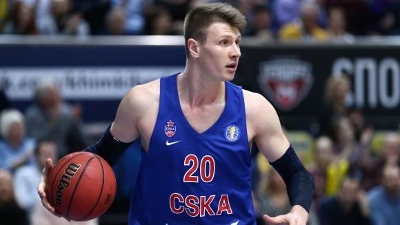 Центърът Андрей Воронцевич напусна баскетболния ЦСКА Москва (Русия), съобщават от
