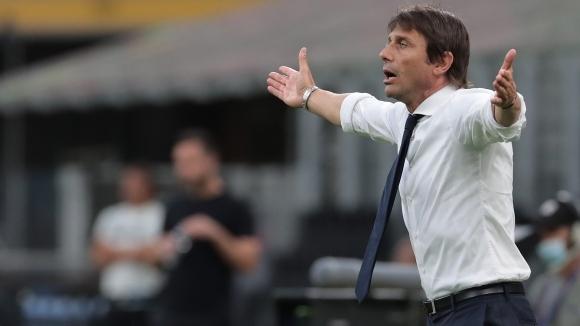 Наставникът на Интер Антонио Конте остана много доволен от разгрома