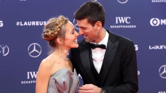 Новак Джокович и съпругата му Йелена са дали отрицателни проби
