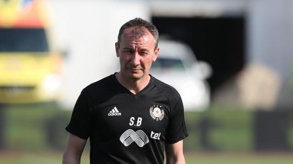 Новият треньор на ЦСКА-София Стамен Белчев е ръководил днешната тренировка