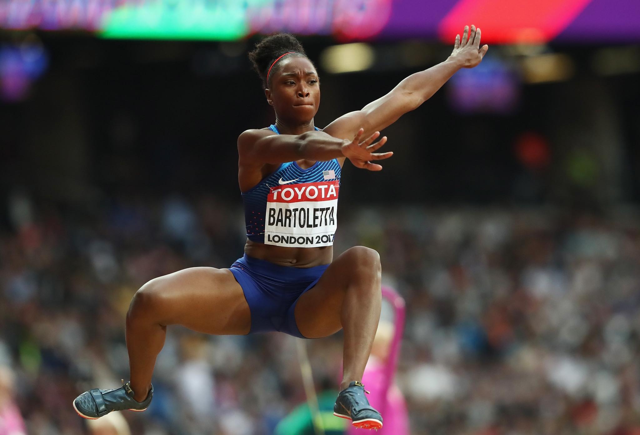 Американската трикратна олимпийска шампионка Тиана Бартолета разкритикува сънародника си Крисчън