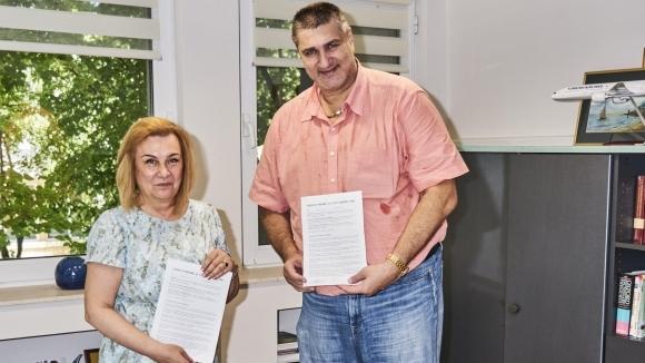 Българска федерация по волейбол подписа Споразумение за сътрудничество с Курортен
