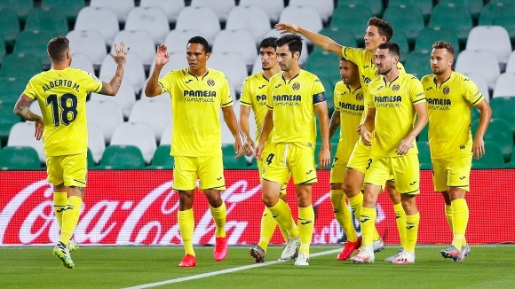 С победата си над Бетис с 2:0 Виляреал постигна трети