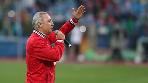 Легендата на ЦСКА и Барселона Христо Стоичков се изказа изключително