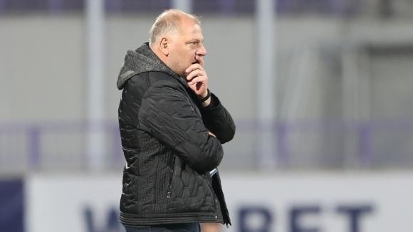 Старши треньорът на Етър Петко Петков говори след успеха на