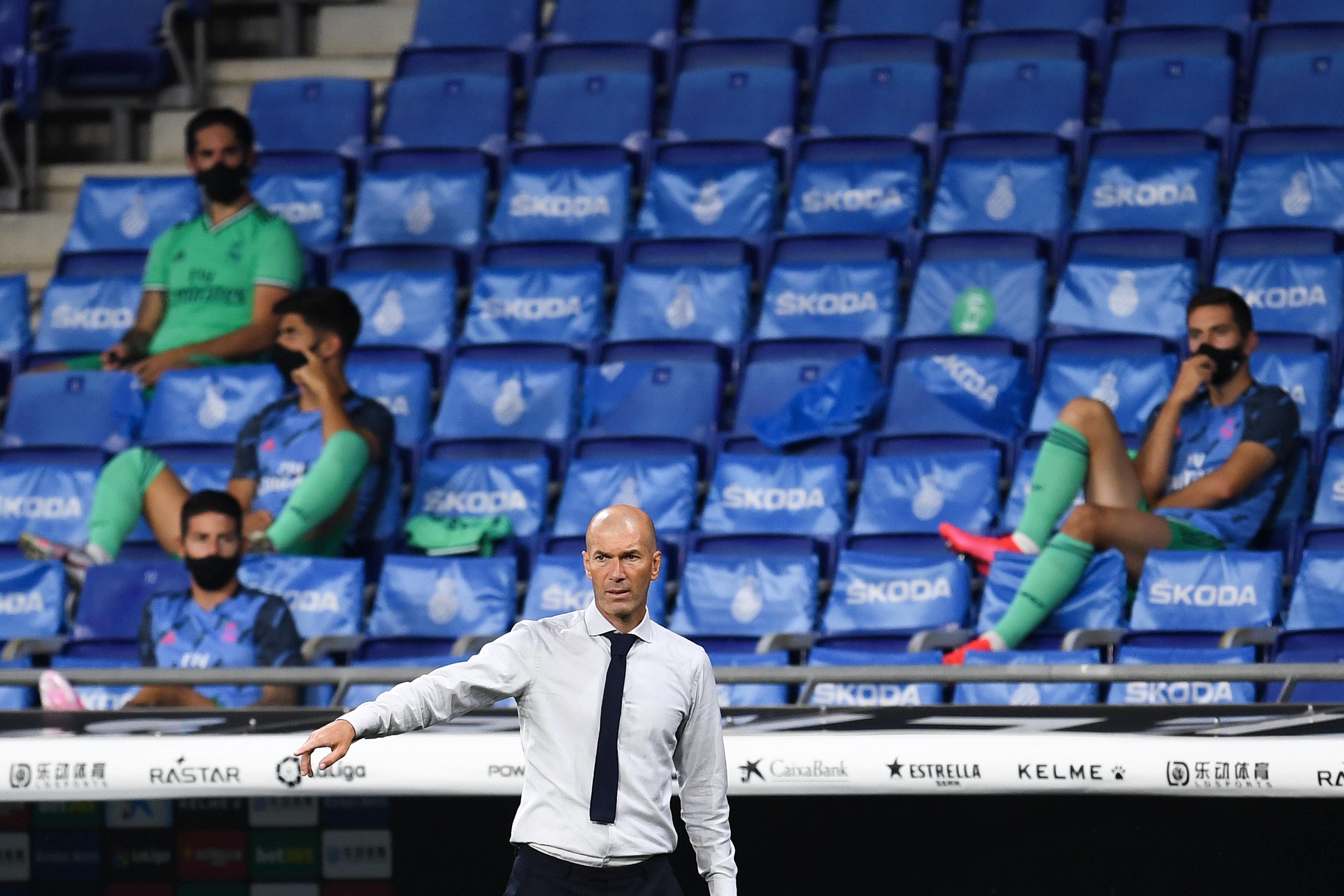 Треньорът на Реал Мадрид Зинедин Зидан похвали отбора си за