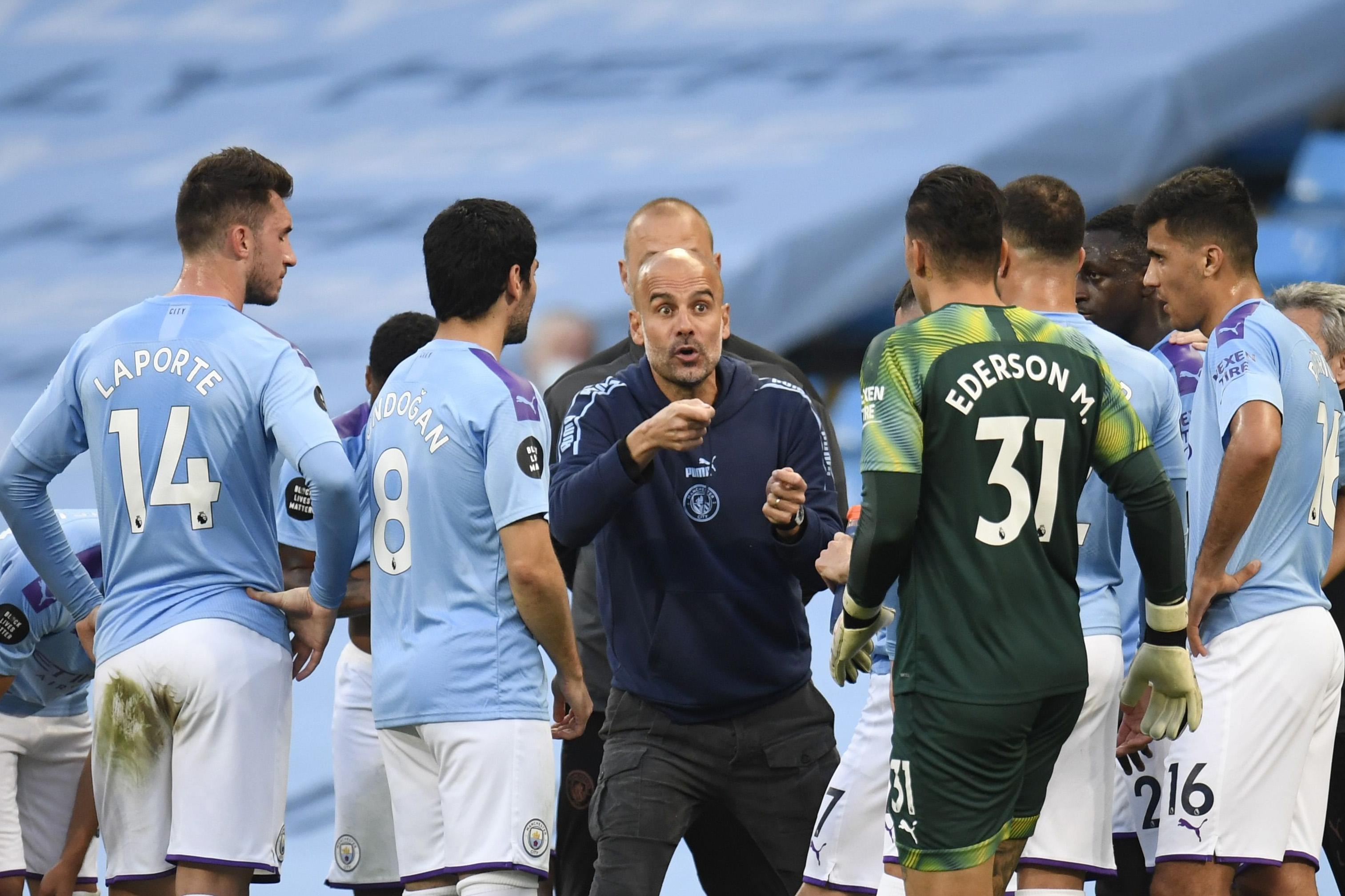 Мениджърът на Манчестър Сити Джосеп Гуардиола коментира в шеговит стил