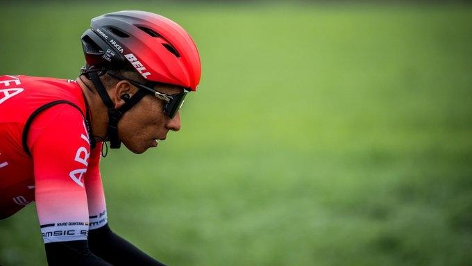 Колумбиецът Найро Кинтана, бивш победител в колоездачните обиколки на Италия