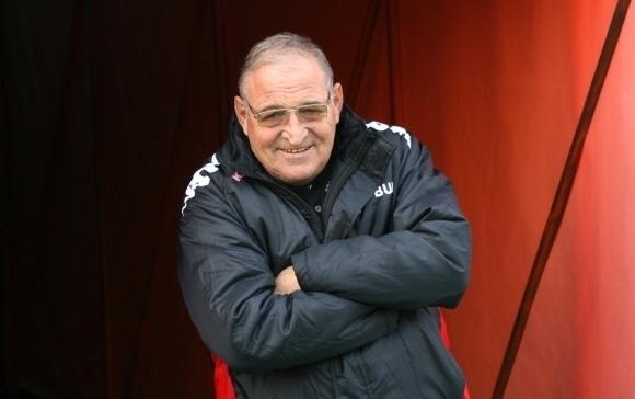 Почетният президент на ЦСКА-София Димитър Пенев направи кратък коментар пред
