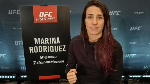Битката в категория сламка междуМарина РодригесиКарла Еспарзаотпадна от бойната карта