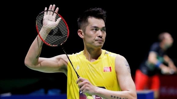 Двукратният олимпийски шампион по бадминтон Лин Дан, един от най-популярните