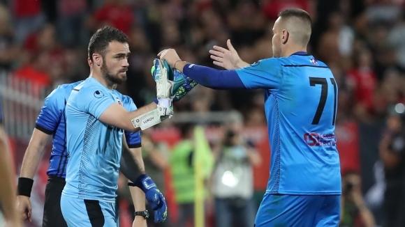 Футболистите на Локомотив (Пловдив) отпразнуваха втората поредна Купа на България