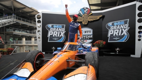 Скот Дискън (Chip Ganassi Racing) записа своята втора победа от