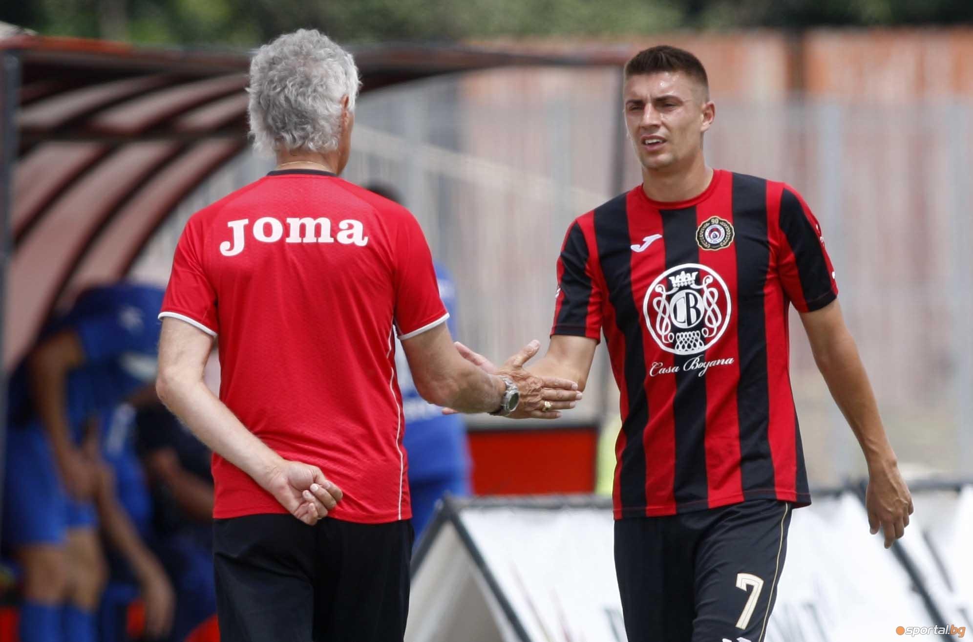 Локомотив (София) ще изиграе две контролни срещи през идната седмица,