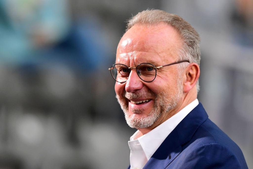 Изпълнителният директор на Байерн Мюнхен Карл-Хайнц Румениге засипа с похвали