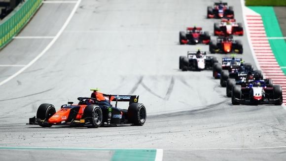 Бразилският новобранец във Формула 2 Фелипе Другович завоюва своята първа