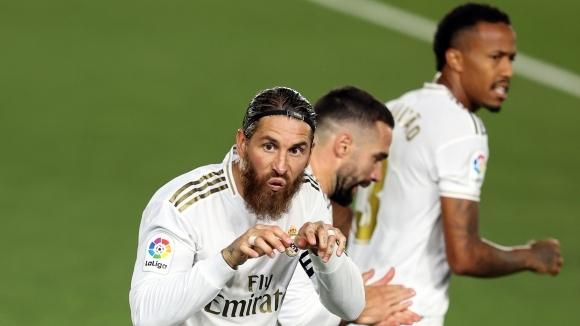 Отборът на Реал Мадрид успя да грабне победа с 1:0