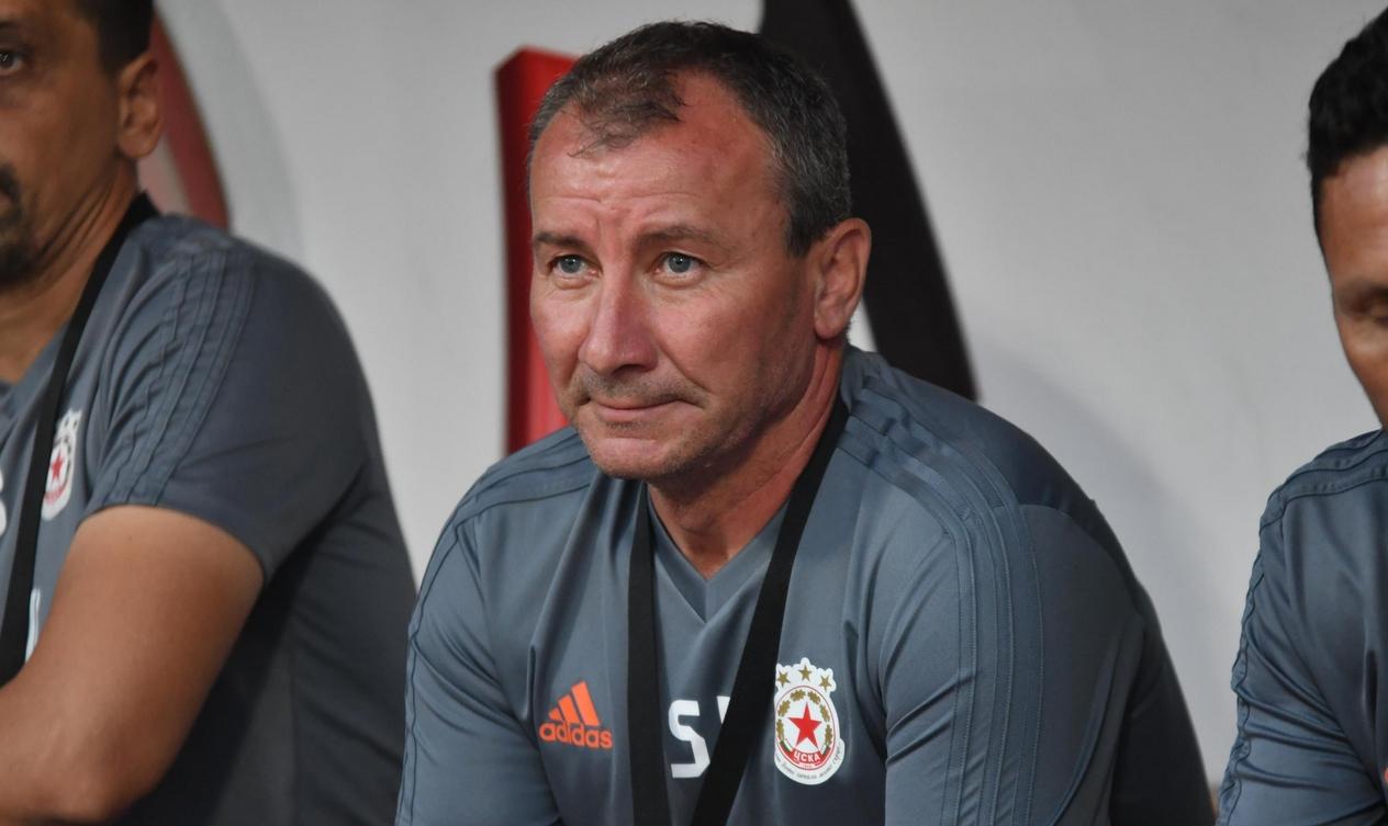 Наставникът на ЦСКА-София Стамен Белчев бе доволен от повторния си