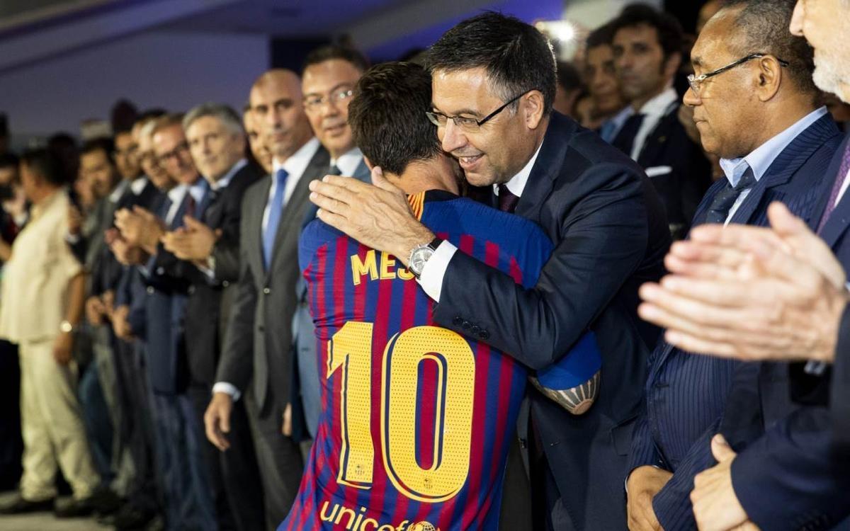 Лионел Меси ще завърши кариерата си в Барселона, сигурен е