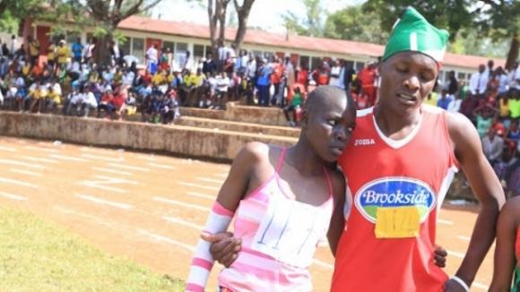 Националната шампионка на Кения 400 метра Мърси Океч казва, че