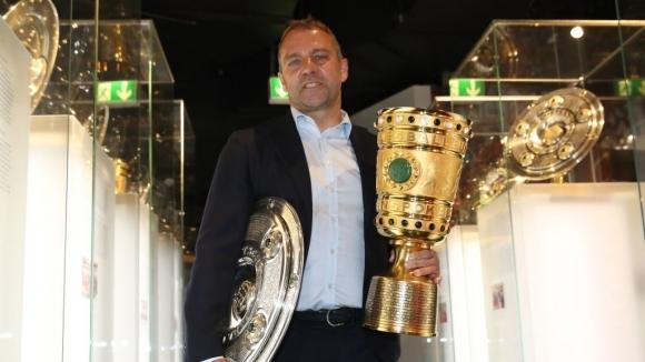 Старши треньорът на Байерн (Мюнхен) Ханзи Флик изобщо не губи