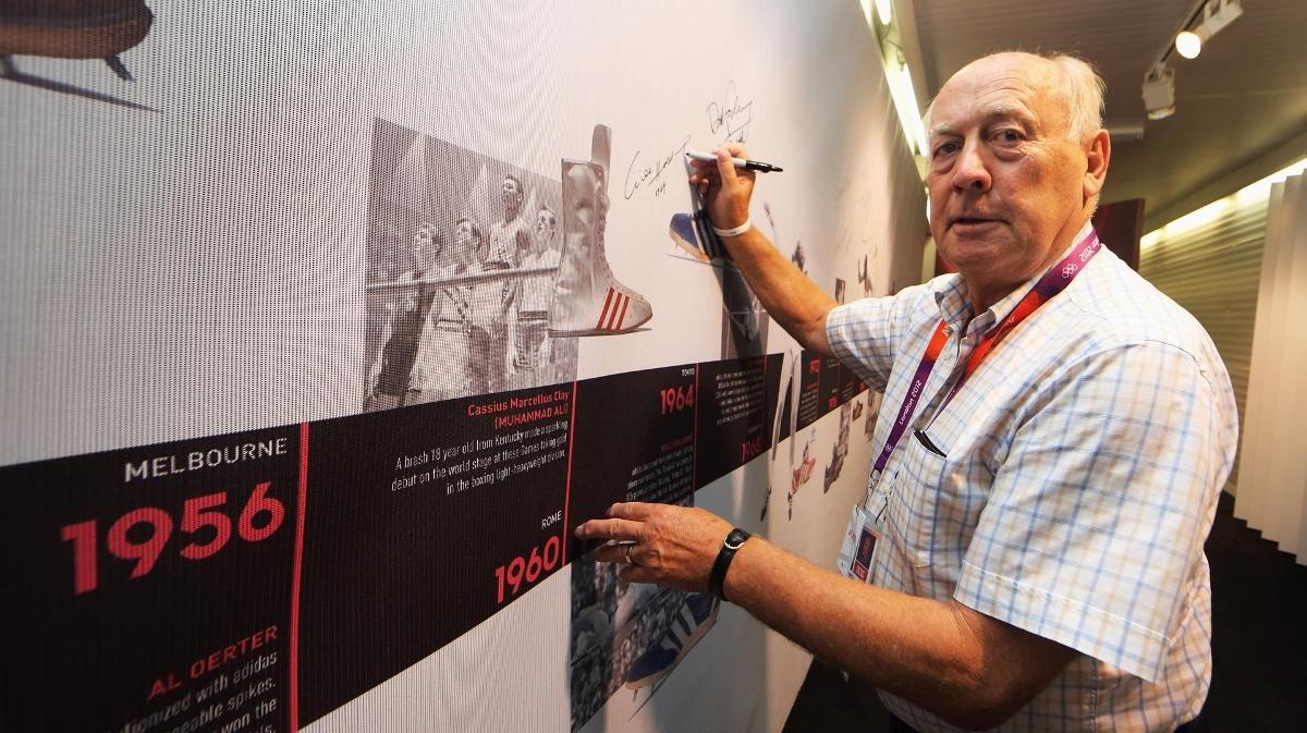 Вили Холдорф, първият олимпийски шампион на Германия по десетобой от