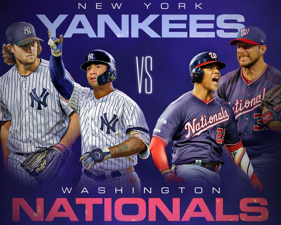 Шампионът Вашингтон Нешънълс ще посрещне Ню Йорк Янкис в първия