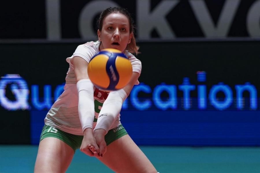 Жана Тодорова е една от звездите в женския национален отбор