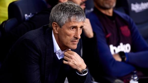 Наставникът на Барселона Кике Сетиен също взе отношение по темата