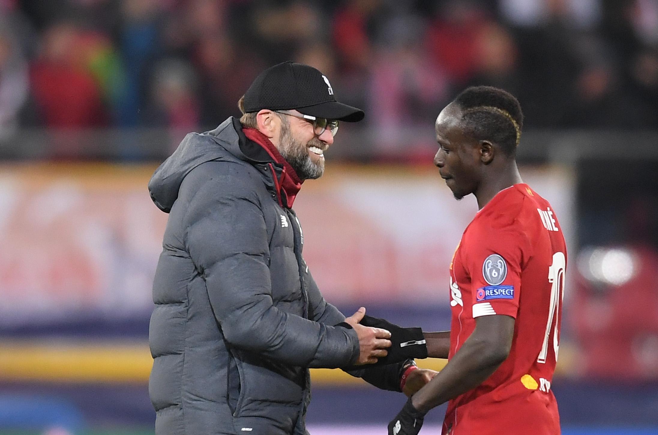Мениджърът на шампиона Ливърпул Юрген Клоп счита Садио Мане за