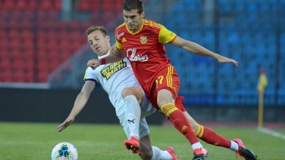 Националът Георги Костадинов игра цял мач за Арсенал (Тула) при