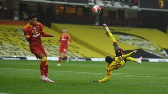 Уотфорд постигна много ценна победа с 2:1 срещу Норич и