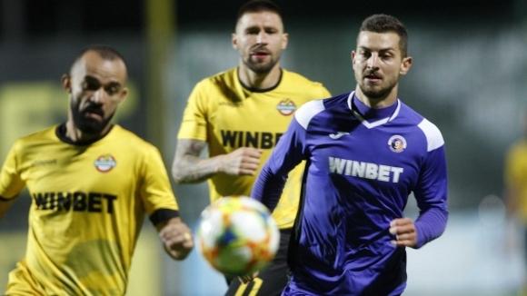 Нападателят на Етър Милчо Ангелов обяви след поражението с 0:1