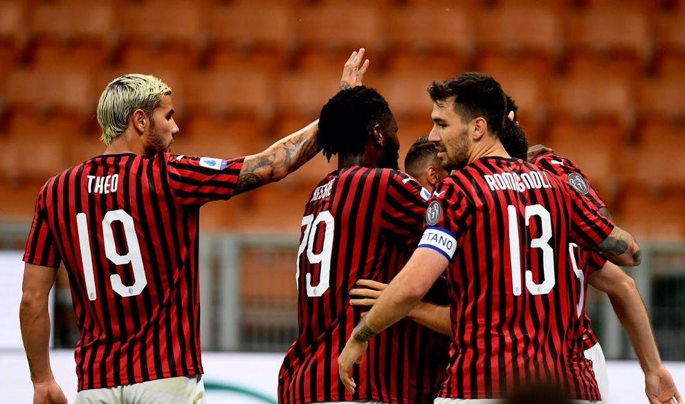 Победата на Милан над Ювентус с 4:2 бе първа за