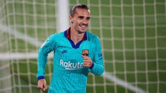 Нападателят на Барселона Антоан Гризман ще остане в клуба, разкри