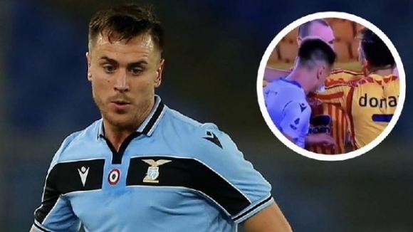 Защитникът на Лацио Патрик получи наказание от 4 мача за
