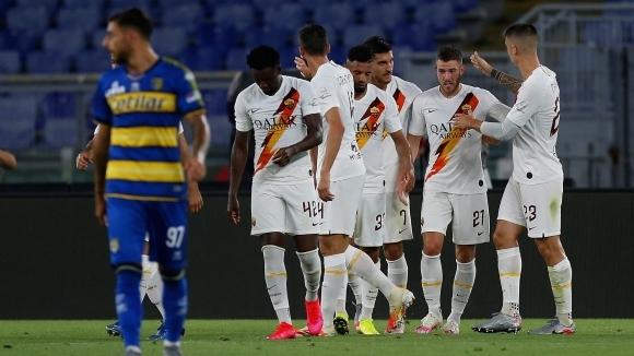 Отборът на Рома постигна пълен обрат, за да запише домакински