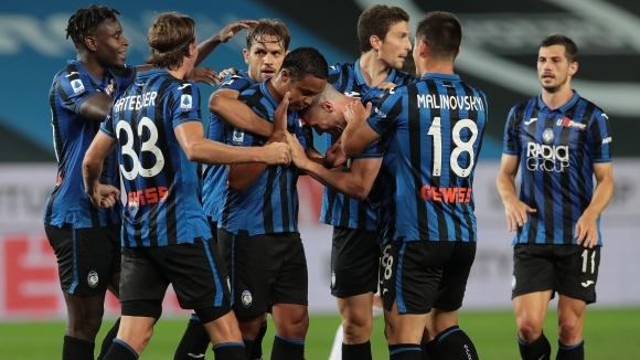 Отборът на Аталанта записа победа с 2:0 на своя стадион