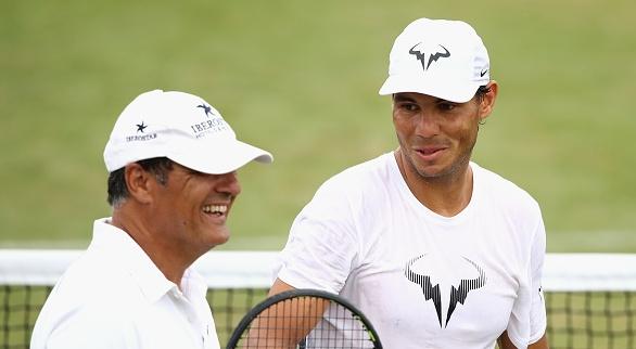 Чичото и дългогодишен, вече бивш, треньор на испанската тенис суперзвезда