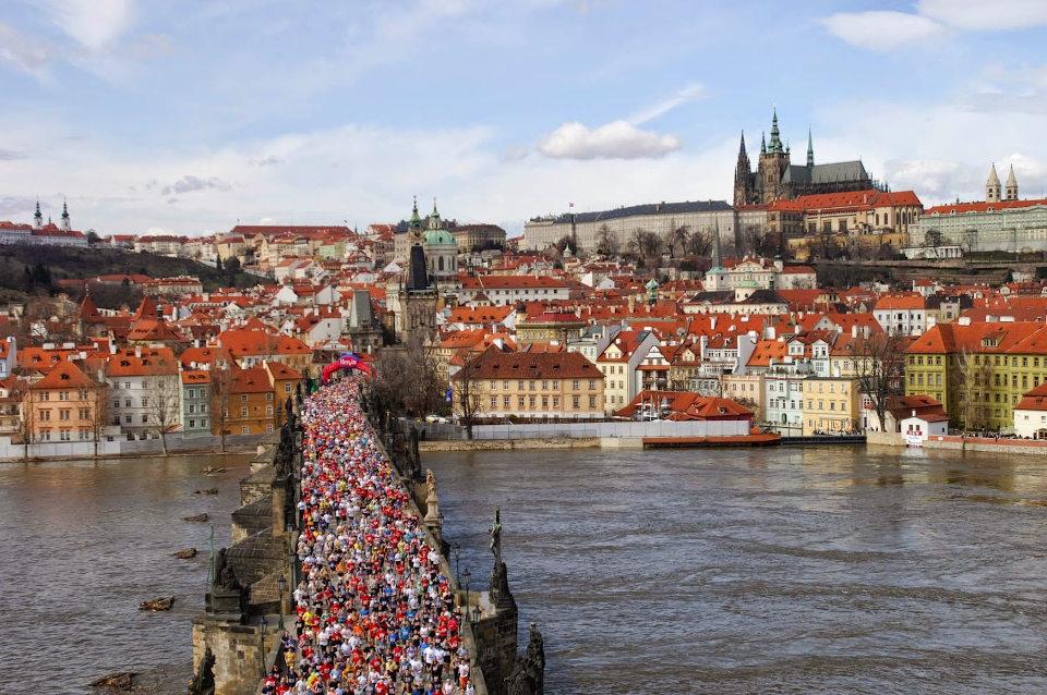 Маратонът на Прага, който беше отложен от 3 май за