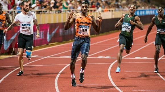 Световният шампион на 200 метра от Доха 2019 Ноа Лайлс,