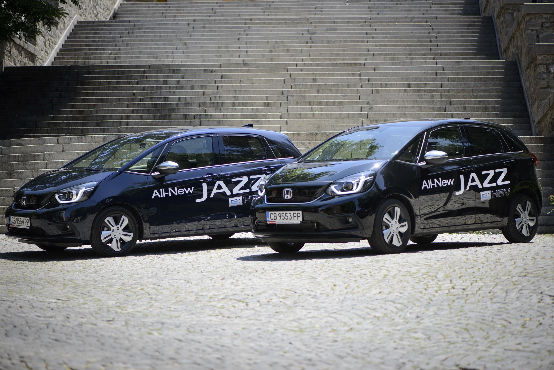 Напълно новият Honda Jazz e вече в България със стартова