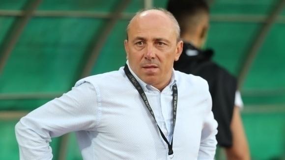 Треньорът на Черно море Илиан Илиев даде интервю за