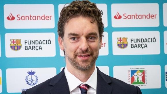 Испанската легенда Пау Гасол няма да облече екипа на любимия