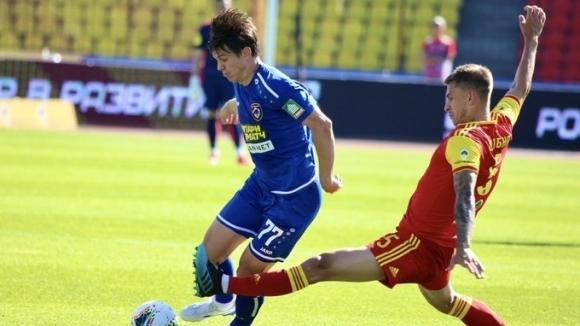 Звездата на Арсенал (Тула) Евгений Луценко донесе изключително ценен успех