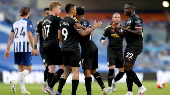 Манчестър Сити гостува на Брайтън в късния съботен мач от