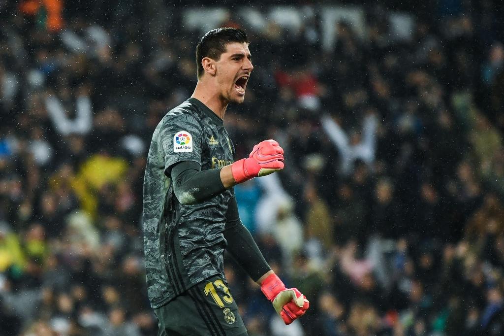 Титулярният вратар на Реал Мадрид Тибо Куртоа впечатлява с изявите