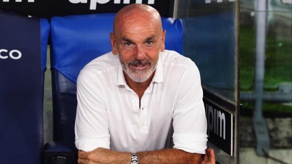 Наставникът на Милан Стефано Пиоли коментира добрата форма на отбора