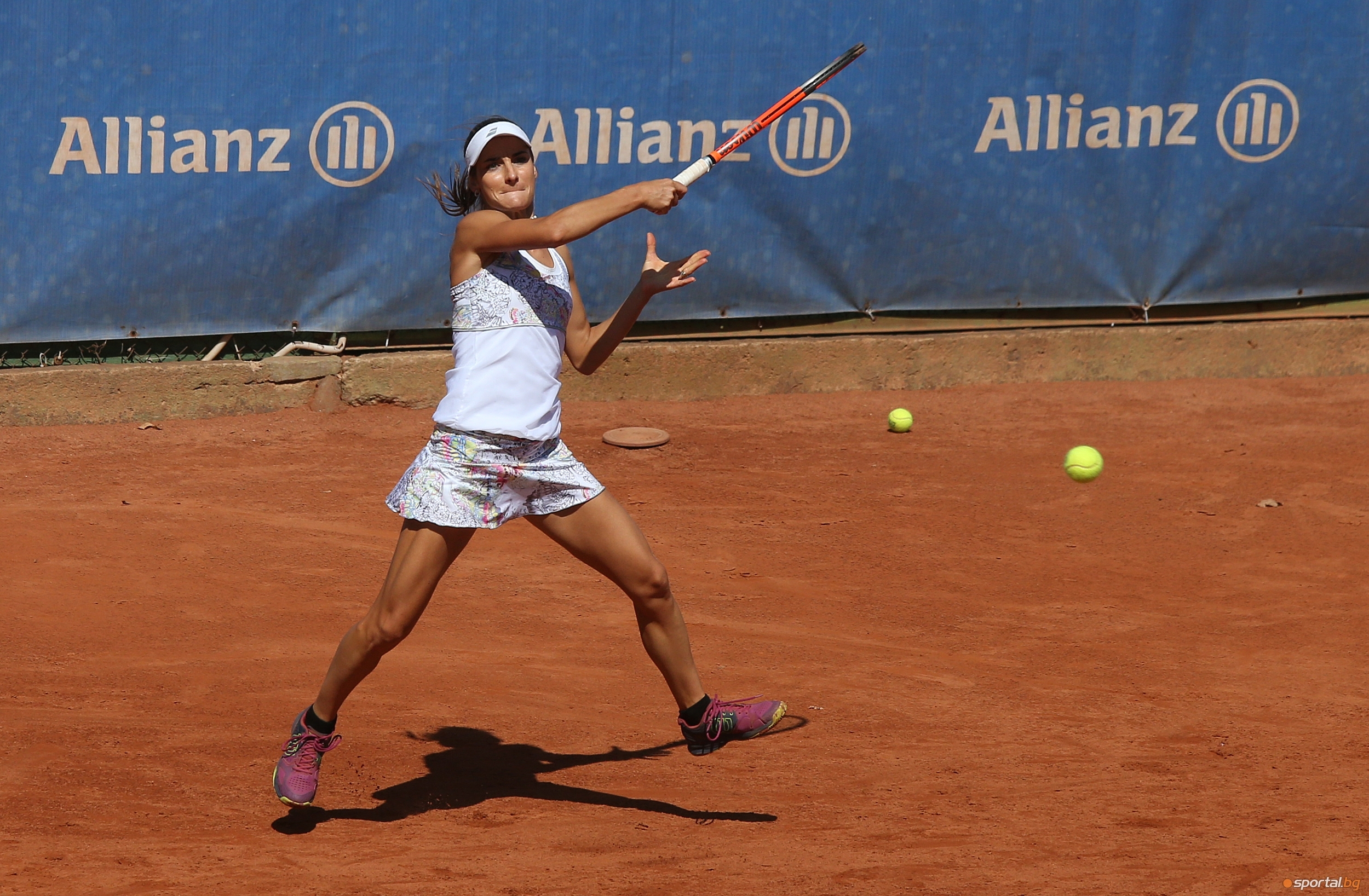 Българката Диа Евтимова записа бърза победа на демонстративния турнир по