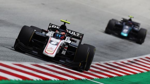 Кристиан Лунгард (ART) записа своята първа победа във Формула 2,